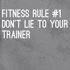 It's important not to lie to your trainer when seeking your fitness goals. You can lie to you spouse your boss friends even kids but not your trainer. Most trainers can tell when clients lie about what they eat or didn't eat by simply looking at client or even seeing their performance during workout. Think of trainers as Santa Clause. We know when you have been bad or good so be good for Christ sake bc we will make you feel it during your workout. Lol. #cresultsfitness #lifestyle…