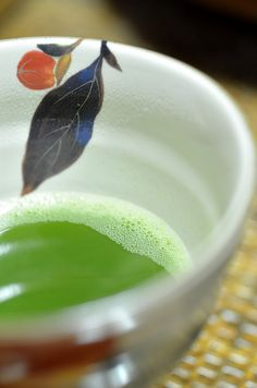 Asian food & drink Japanese matcha tea お点前 by maaco, via Flickr
