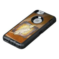 Cockatoo Parrot. OtterBox iPhone 6/6s Case★ #Steampunk #Samsung #iphone #Cases #S6 #S7 #ipad #samsunggalaxys #victorian #phonecases #accessories #gosstudio