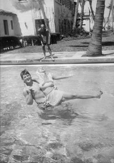Kennedy Family Collection Nitrate Negative Project: Fun in the Sun Kathleen Kennedy, Les Kennedy, Jackie Kennedy, Florida Mansion, Joan Bennett, Indigenous Tribes, Jfk Jr, Irish American, Atlantic Beach