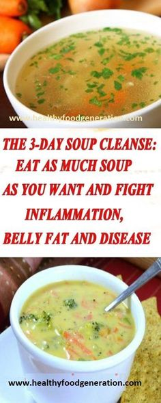 In order for our organs to function properly and keep our body healthy, we need to detox our body every once in a while. Most people try fruit juice detox programs which work well, but there's one detox program that might be the best – the 3-day soup cleanse. The amazing soup cleanse will completely …