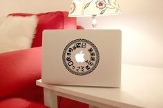 Camera Keyboard decal  macbook decal/ macbook pro by MixedDecal