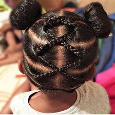 Girls Natural Hairstyles, Natural Hairstyles For Kids, Baby Girl Hairstyles, Kids Braided Hairstyles, Teenage Hairstyles, African Hairstyles, Toddler Hairstyles, School Hairstyles, Little Girl Braids