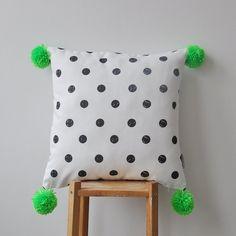 NEW Decorative Pillow Modern Nursery Pillow by LoveJoyCreate