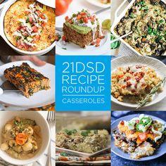 21DSD Recipe Roundup | Casseroles | The 21-Day Sugar Detox by Diane Sanfilippo