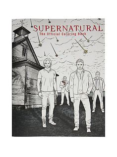 Supernatural Coloring BookSupernatural Coloring Book,