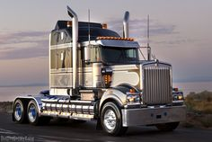 Kenworth is proven to take seriously the needs of truckers and does everything to improve the performance of the it's trucks. Whether one buys a fresh or used semi truck, the dog owner is assured Peterbilt, Kenworth Trucks, Best Diesel Truck, Diesel Trucks, Train Truck, Road Train, Customised Trucks, Custom Trucks, Cool Trucks