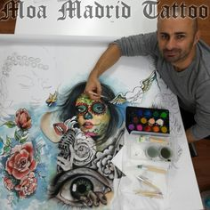 Diseñador de tatuajes en Madrid Moa Madrid Tattoo, tu elección mejor de tatuador en Madrid.  Tu tattoo profesional, en mi estudio de tatuaje.