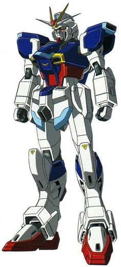 The ZGMF-X56S Impulse Gundam is a Mobile Suit, it is first featured in the anime series Mobile Suit Gundam SEED Destiny.