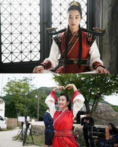 Hwarang behind the scenes Ban Ryu, Actor Quotes, Best Kdrama, Kdrama Memes, Park Hyung Sik, Drama Film, Korean Artist, Korean Outfits, Korean Beauty