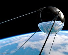 Sputnik 1, the first Earth orbiting satellite launched today 10-4 in 1957 by the USSR. For those boomers not around at this point, this was a giant event in the Cold War and Space Race that older Boomers well understood. There were 'spies in the stars' now!