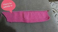İlik Yerinden Başlamalı Bebek Yeleği Yapılışı – elisiorgudukkani.com Knitting For Kids, Baby Knitting Patterns, Knit Vest, Free Pattern, Knit Crochet, Babies, Fashion, Templates, Sweater Vests