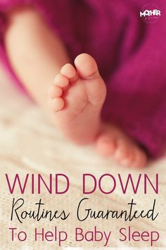 Does your baby or toddler fight sleep? Here are some wind down routines that will help your baby get in the mood to sleep. They make bedtime a breeze! #TonightWeSleep #ad