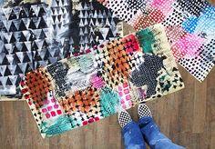 alisaburke: canvas storage bags