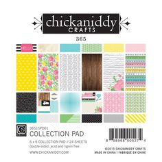 "365 Collection - Chickaniddy Crafts 6"" by 12"" collection pack"