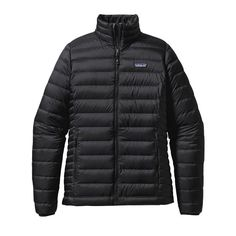 Patagonia Women's Down Sweater Jacket - Black (BLK)