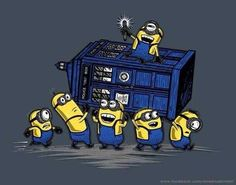 doctor who minions   despicable me # doctor who # tardis