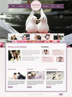 Wedding website inspirations at your coffee break? Browse for more Stretched Flash CMS Theme #templates! // Regular price: $99 // Sources available:.XFL #Wedding #Stretched Flash CMS Theme