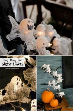 Ping Pong Ghost Lights