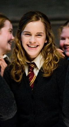 "Emma Watson in ""Harry Potter And The Order Of The Phoenix"":"