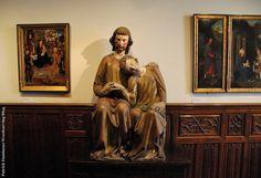 Sculpture Ornementale PATRICK DAMIAENS: Musée Mayer van den Bergh | Boiseries style classique peintes | Musée à Anvers