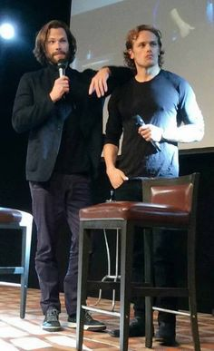 Sam Heughan & Jared Padalecki at Jibland 2016