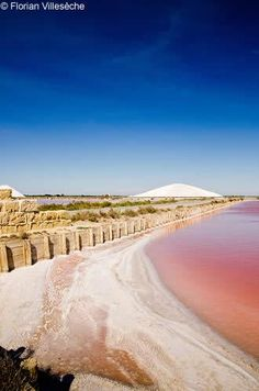 Saltworks of Aigues Mortes in the Camargue Montpellier, La Provence France, Glamping, Places Around The World, Around The Worlds, Places To Travel, Places To Visit, Excursion, Belle Villa