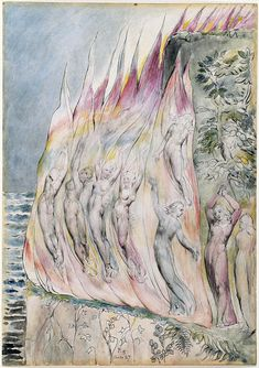 "Illustrations to Dante's ""Divine Comedy"", 1824-27 ( (Multiple [7] Owners): electronic edition. William Blake.."