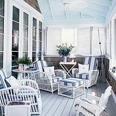 Fresh Ideas for Porches and Decks | Historic Hue | CoastalLiving.com