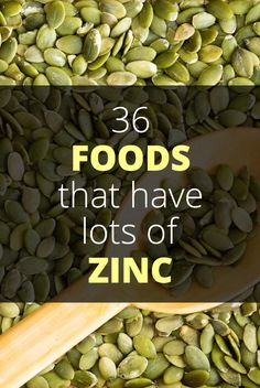 About Zinc Zinc is a mineral that occurs naturally in a number of foods and plays a pivotal role in maintaining a healthy body, particularly where the immune system is concerned. What Foods Have Zinc, Foods High In Zinc, Zinc Rich Foods, Foods With Zinc, Holistic Nutrition, Health And Nutrition, Health Tips, Men Health, Health Foods