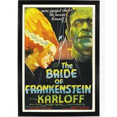 Where can i watch the bride of frankenstein online. Comedy who will be the bride of frankenstein who will dare. Frankenstein and his monster both turn out to be alive, not killed as previously. Old Posters, Best Movie Posters, Classic Movie Posters, Classic Horror Movies, Movie Poster Art, Vintage Posters, Poster Wall, Halloween Movies, Scary Movies