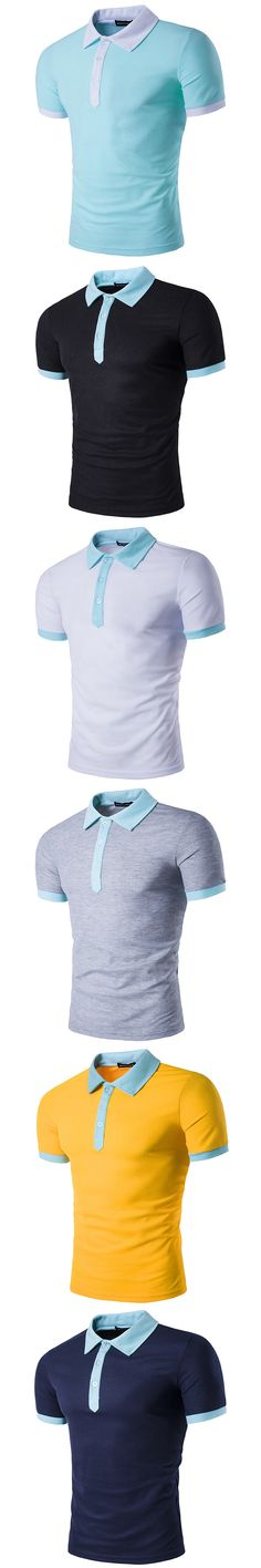 Blue Collar Worker Homme Casual Tracker Top Tee à manches courtes bleu marine NEUF