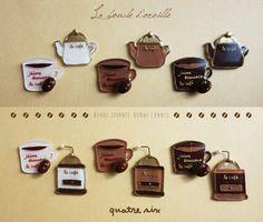 コーヒーLOVERのイヤリング or ピアス
