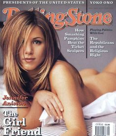 Jennifer Aniston (1996) | The 25 Sexiest Rolling Stone Covers Of All Time