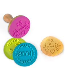 Look at this Homemade Cookie Stamp Set on #zulily today!