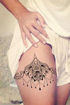 Resultado De Imagen Para Tatuajes En La Pierna De Mujer Tatuajes