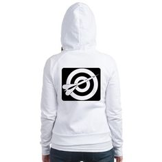 Darts Fitted Hoodie on CafePress.com