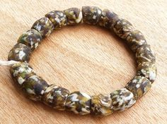 African Glass Beads Recycled Glass Beads Krobo Beads by Krobobeads
