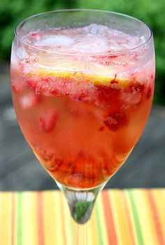 Strawberry Muddle, could easily be made nonalcoholic