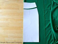 How to sew a KNIT pencil skirt…or at least how I do it… | Simple Simon and Company