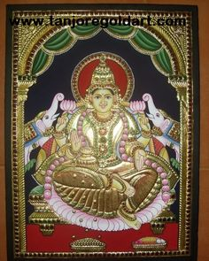 south indian tanjore art