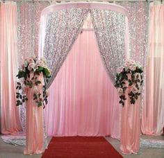 Sequins-fabric-wedding-gauze-background