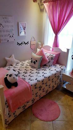 Best Shared Girls Bedroom – My Life Spot Toddler Room Decor, Toddler Rooms, Kids Rooms, Girl Bedroom Designs, Girls Bedroom, Bedrooms, Daughters Room, Kids Room Design, Little Girl Rooms