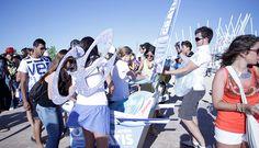 Acción de Marketing de Guerrilla para Air Europa en Rock in Rio 2012.