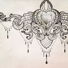 feminine compass tattoo chandelier - Google Search