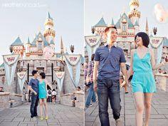 Disneyland Engagement Photos: Sylvia + Andy | Magical Day Weddings | A Wedding Atlas Fan Site for Disney Weddings