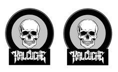Logo Kaleuche Rock chileno Darth Vader, Rock, Logos, Fictional Characters, Locks, Rock Music, Fantasy Characters, Logo, Stone