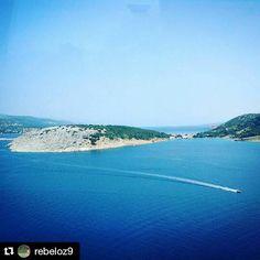 #Repost @rebeloz9  #Croatia #pagisland #zrce #sea #water #enyoingtheview #tb #travel #Explore #nature