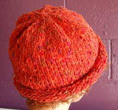 cotton chenille - Waikiki roll brim hat - free pattern