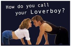 Dirty Dancing movie magnets!  I'll never stop loving Johnny and Baby!